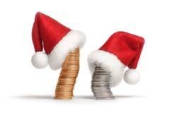 1圣诞节投资 库存照片