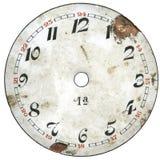 1块拨号葡萄酒手表 库存图片