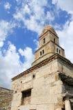 1块教会densus罗马尼亚石头 库存图片