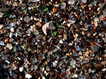 1块海滩玻璃 免版税库存照片
