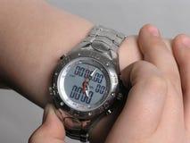 1块计时表手表 免版税库存图片