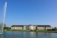 1城堡ludwigsburg 库存图片