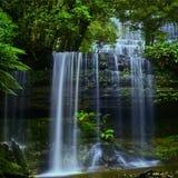 1塔斯马尼亚岛瀑布 免版税图库摄影