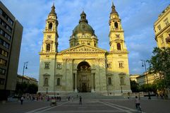 1大教堂布达佩斯圣徒stephens 库存照片