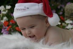 1婴孩圣诞节 图库摄影