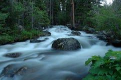 1小河冰川 库存照片