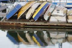 1小船 免版税库存照片