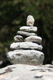 1岩石小湖禅宗 免版税库存照片