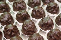1巧克力意大利人酥皮点心 库存照片