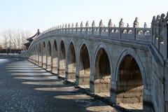 1座古老桥梁 免版税库存图片