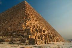 1座吉萨棉金字塔 免版税库存照片