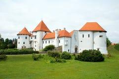 1座城堡克罗地亚 免版税库存照片