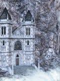 1座城堡 免版税图库摄影