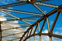 1座桥梁 免版税库存图片