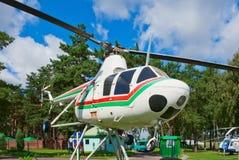 1座直升机mi纪念碑 免版税库存图片