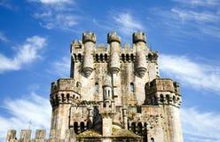 1座butron城堡 免版税库存照片