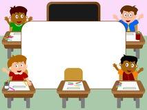 1所框架照片学校 库存照片