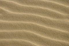 1接近的沙子纹理 免版税库存图片