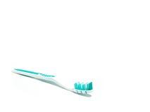 1支牙刷牙膏 免版税库存照片