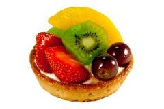1新鲜水果酥皮点心 库存照片