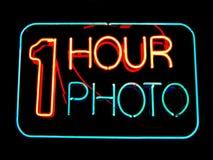 1时数照片 免版税图库摄影