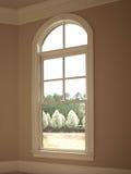 1曲拱豪华唯一视窗 免版税图库摄影