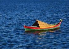 1条小船 免版税库存图片