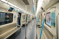 1条成都线路地铁 库存图片