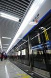 1条成都线路地铁 免版税库存图片