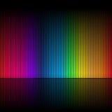 1条抽象颜色彩虹 库存照片