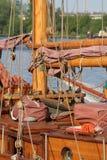 1条游艇 免版税库存图片