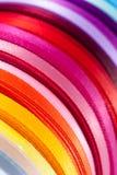 1条颜色丝带 图库摄影