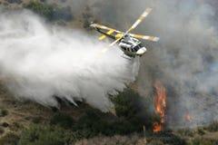 1架直升机 图库摄影