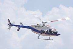 1架直升机 免版税库存图片