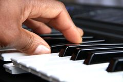 1架钢琴 免版税库存照片