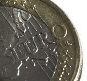 1欧元 库存照片