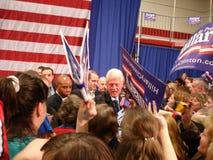 1比尔・克林顿・希拉里・俄亥俄 免版税库存图片