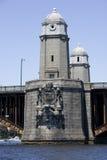 1波士顿桥梁longfellow 免版税库存图片