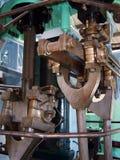 1活塞杆蒸汽 库存照片
