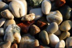 1湿的石头 免版税库存图片