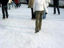 1滑冰 图库摄影