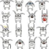 1滑稽的兔子 库存照片
