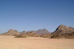 1片沙漠 库存图片