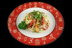 1牛肉食物mein 库存图片