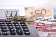 1现金检查 免版税图库摄影
