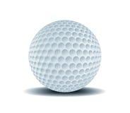 1球高尔夫球 免版税库存图片