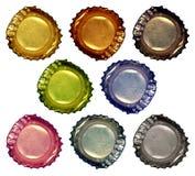 1瓶盖 免版税库存照片