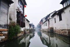 1瓷没有城镇水zhouzhuang 库存图片