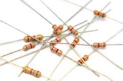 1电子电阻器 库存照片