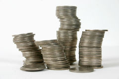 1硬币 免版税库存图片